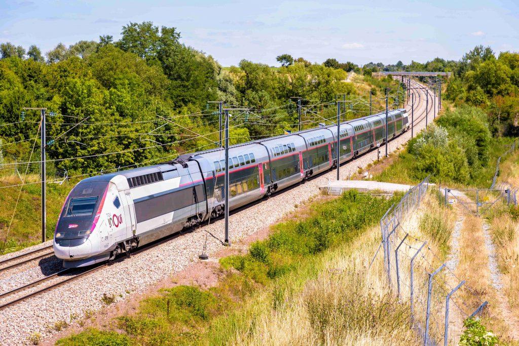 la voie ferroviaire SNCF Bordeaux-Irun